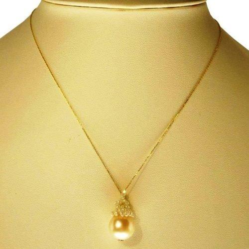 Catenina di Perle ed Oro, Rajola. Collezione CHARLOTTE. Codice 3100-302-1.