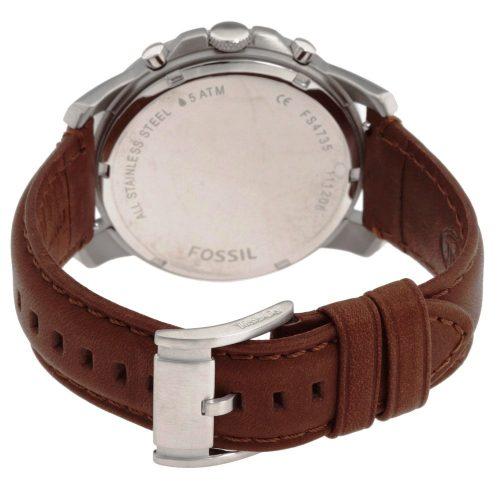 Orologio cronografo da uomo Fossil. Collezione GRANT. Codice FS4735.