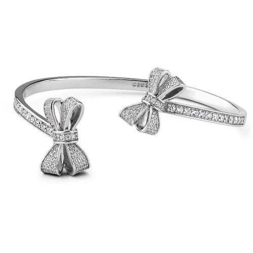 Bracciale da donna in argento e cristalli, Rosato. Collezione SOGNI. Codice RSOB15.
