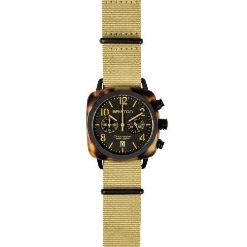 Orologio Clubmaster Cronografo, Briston. Collezione CLASSIC. Codice 14140.PBAM.TS.5.NK.