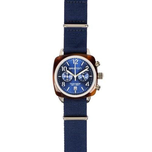 Orologio Clubmaster Cronografo, Briston. Collezione CLASSIC. Codice 15140.SA.T.9.NNB.