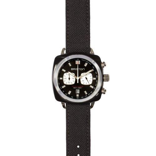 Orologio Clubmaster Cronografo, Briston. Collezione SPORT. Codice 15142.SA.BS.1.LSB.