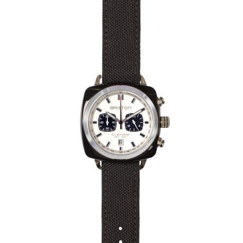 Orologio Clubmaster Cronografo, Briston. Collezione SPORT. Codice 15142.SA.BS.2.LSB.