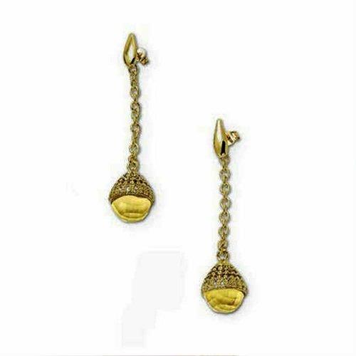 Orecchini da donna in bronzo e cristalli, Labriola gioielli. Collezione ELASTICHIC. Codice 2023.