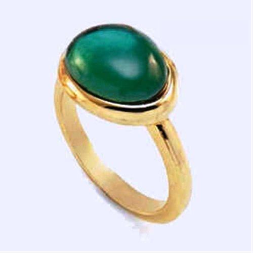 Anello da donna con Peridoto Verde, Labriola. Collezione LINEA ORO. Codice 3643F.