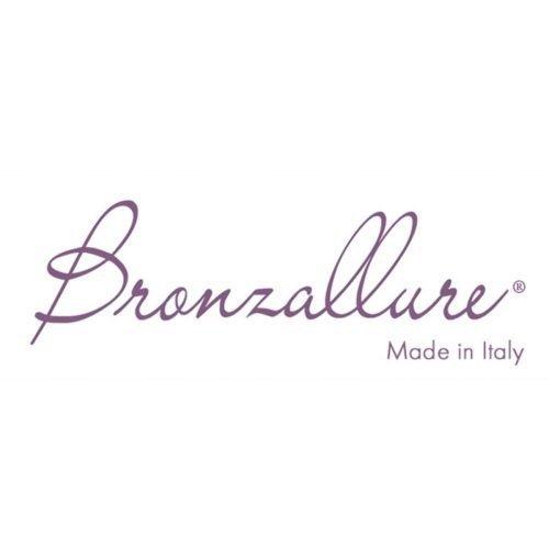 Collana a Catena in lega di Bronzo placcato Oro Rosa 18Kt con Madreperla, Bronzallure. Collezione VARIEGATA. Codice WSBZ01410AZPRL.