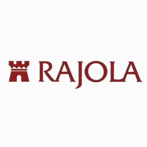 Collana cinque fili con Granato, Rubini in Zoisite, Tormaline ed Oro, Rajola. Collezione GALILEO. Codice 54-414-5L.
