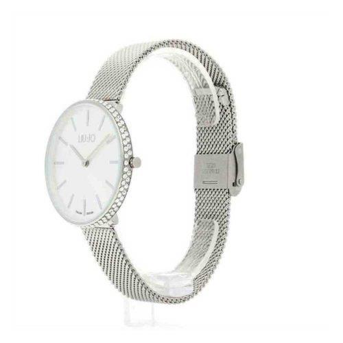 Orologio da donna, Solo Tempo, Liujo Time. Collezione GLAMOUR GLOBE. Codice TLJ1411.