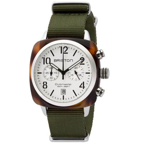 Orologio Cronografo unisex. Collezione CLUBMASTER CLASSIC acetato. Codice 16140.SA.T.2.NGA.