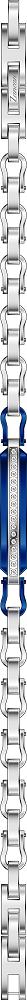 Bracciale da uomo in acciaio 316L, Zancan Gioielli. Collezione HI TECK. Codice EHB253.