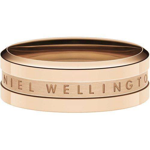 Anello da donna in acciaio 316L, Daniel Wellington. Misura 16. Collezione ELAN. Codice DW00400092.